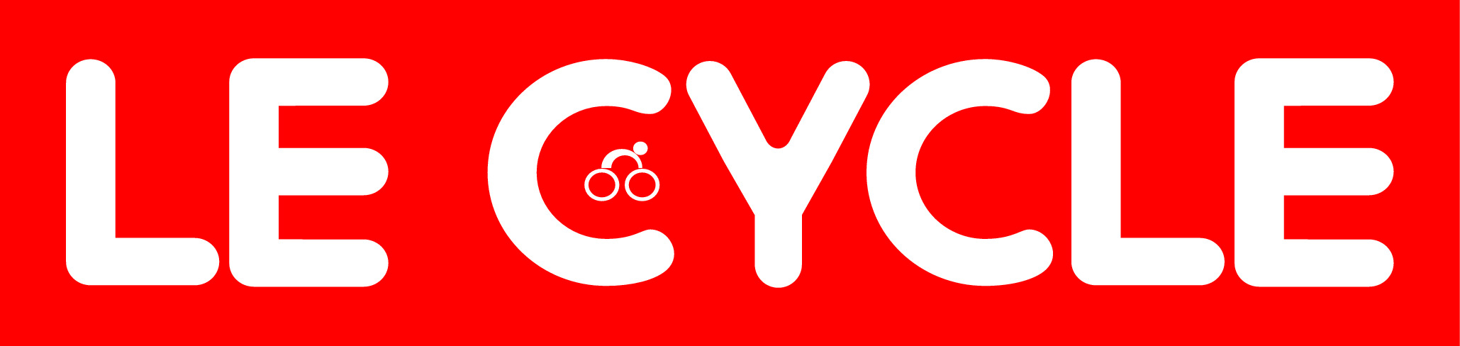 LOGO LE CYCLE 2012 Red blanc